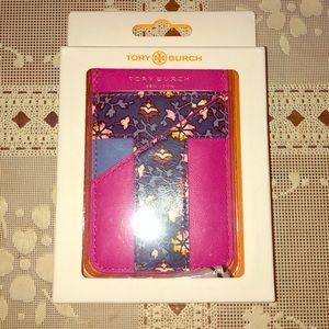 Tory Burch card holder for phone